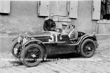 MG C Type Midget . Photo. Francis Samuelson and Freddy Kindell Le Mans 1932